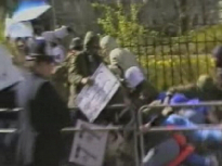 7/7 placard, peter power libyan embassy siege, murder of yvonne fletcher