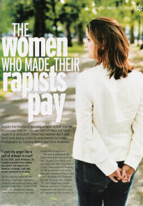 "Rachel ""North"" - Marie Claire, published on 7th July 2005"