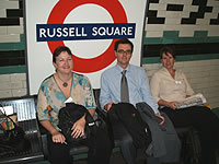 Julie Middleton & Co at Russell Square Underground Station