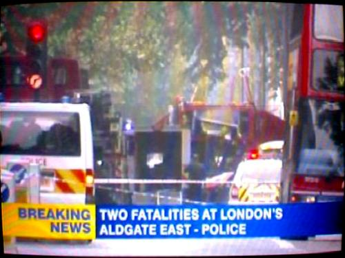 two fatalities at aldgate east
