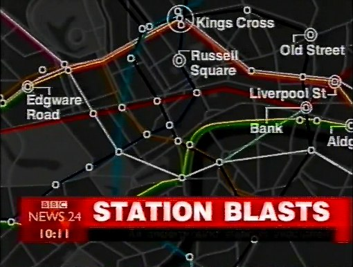 bbc showing multipled blasts